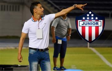 Giovanni Hernández fue confirmado como DT del Junior