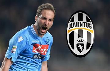 Gonzalo Higuaín está a una firma de ser de la Juventus