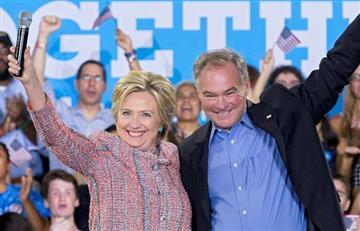 Hillary Clinton anunció su fórmula vice presidencial
