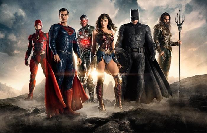 La Liga de la Justicia: primer trailer oficial de la película