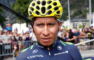 "Nairo Quintana: ""Es un milagro que siga en el Tour"""