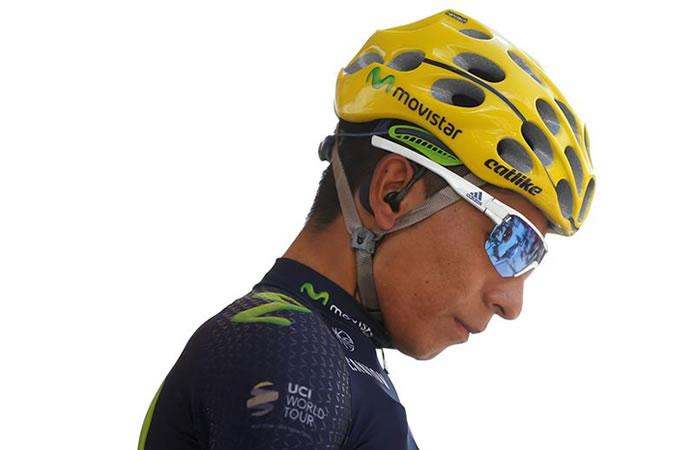 Nairo Quintana se aseguró un puesto en el podio