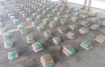 Armada colombiana volvió a incautar gran cantidad de cocaína