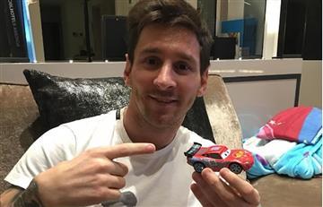 Lionel Messi quiso imitar a James Rodríguez con su nuevo look