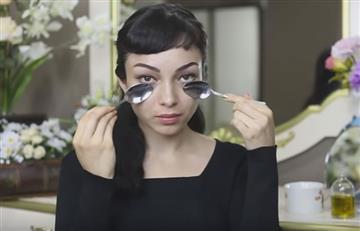 Elimina las arrugas con el truco de la cuchara