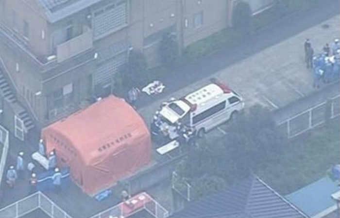 El atacante fue detenido luego del hecho. Foto: Twitter