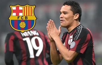 Carlos Bacca es el plan B del Barcelona