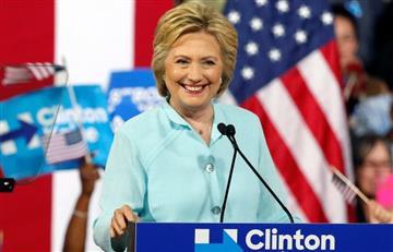 Hillary Clinton es oficialmente candidata a la presidencia de EE.UU.