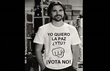 Juanes está muy molesto por ofensivo montaje en Twitter