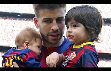 El gran parecido entre Piqué y su hijo Sasha