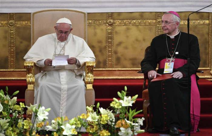 El sumo pontífice se encuentra en Cracovia. Foto: EFE