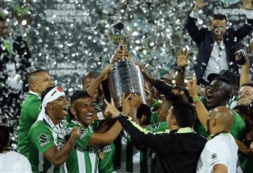 En FOTOS, lo que no se vio de los festejos de Atlético Nacional