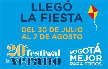 Festival de Verano de Bogotá 2016 y sus actividades