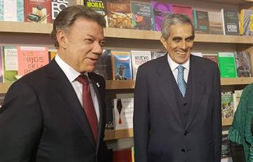 FOTOS: Santos, ilustre visitante en la Feria del Libro de Lima