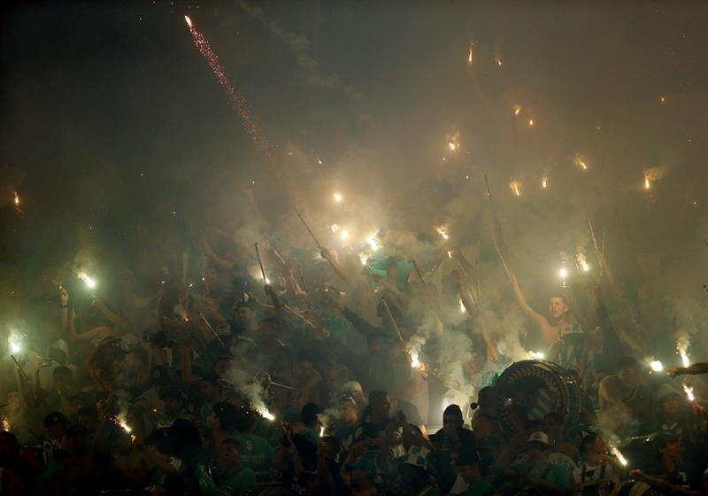 IMÁGENES: Lo que no se vio de la fiesta de Nacional antes de la final