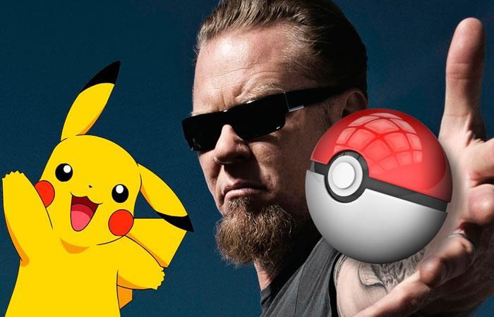 Metallica canta el intro de Pokemon en vivo ¿Será cierto?