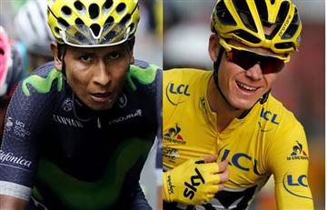 Nairo Quintana es mejor que Froome según la UCI