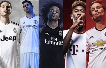 Adidas lanzó los terceros uniformes de Chelsea, Real Madrid y Manchester united