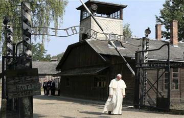 """El Papa escribió en Auschwitz: """"Señor, perdón por tanta crueldad"""""""