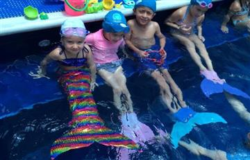 Llega a Colombia nueva modalidad acuática para niños