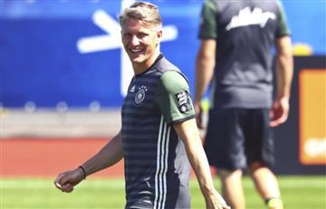 Schweinsteiger renunció a la selección alemana.