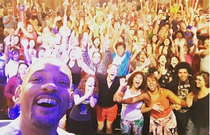 Will Smith goza de 'Fiestas del mar' en Santa Marta