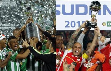 Atlético Nacional e Independiente Santa Fe reviven el fútbol colombiano