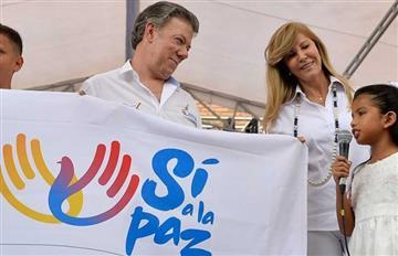 """Santos promueve el """"sí"""" en el plebiscito"""