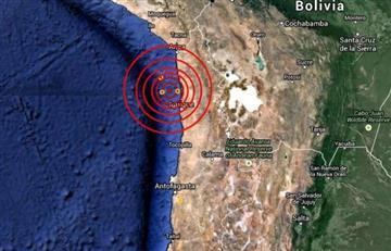 Temblor sacudió el norte de Chile