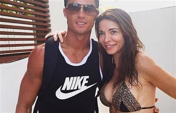 Cristiano Ronaldo se pinta las uñas de los pies