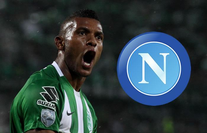Napoli reemplazaría a Gonzalo Higuaín por Miguel Angel Borja