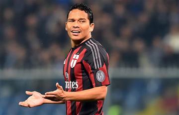 AC Milan ofreció a Carlos Bacca al PSG y este dijo que no