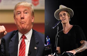 Justin Bieber se rehúsa a cantar para Donald Trump