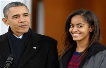 Video: El atrevido baile de la hija de Obama