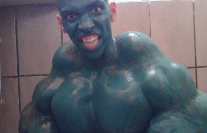YouTube: Así se veía el 'Hulk real' tras inyectarse una mezcla letal