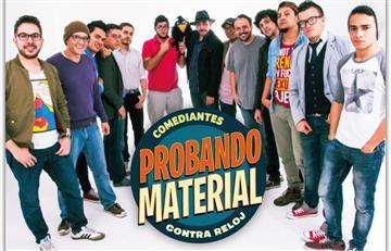 Teatro: Llega la segunda temporada de 'Probando material'