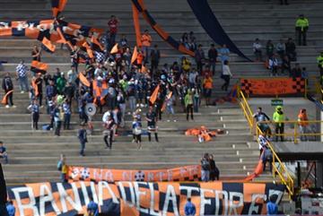 Boyacá Chicó fue sancionado por culpa de sus hinchas