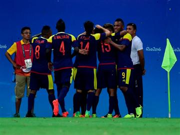 Río 2016: Colombia empató en su debut olímpico