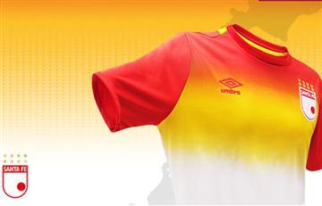 Santa Fe y su nueva camiseta para disputar la Suruga Bank