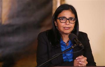 """Delcy Rodríguez denunció """"boicot"""" para impedir la presidencia de Mercosur"""
