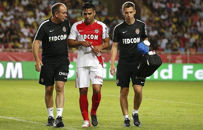 Falcao García estaría cuatro semanas sin jugar