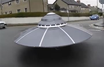 OVNI es capturado por un policía