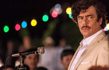 Pablo Escobar es admirado por el actor Benicio del Toro