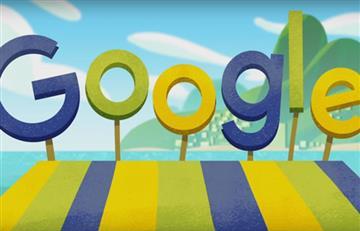 Río 2016: Google celebra los Olímpicos con un divertido doodle