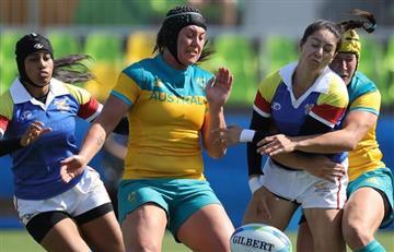 Río 2016: Dura derrota del equipo colombiano femenino de rugby 53 - 0