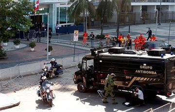 Río 2016: Explosión controlada en Copacabana