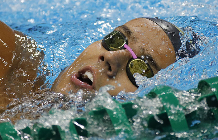 Río 2016: Nadador colombiano a semifinales de 100 metros de pecho