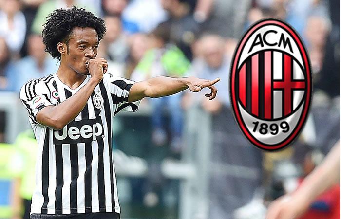 AC Milan prepara 25 millones de euros por Cuadrado
