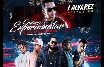 """J Álvarez presenta el remix de """"Quiero experimentar"""""""