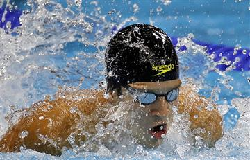Río 2016: Jonathan Gómez clasifica a la semifinal de 200 mariposa
